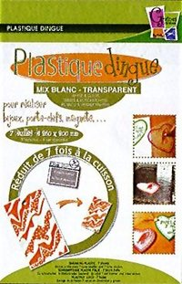 Plastique dingue - Transparent et Blanc