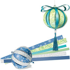 "Kit Paper Balls ""White Christmas"""