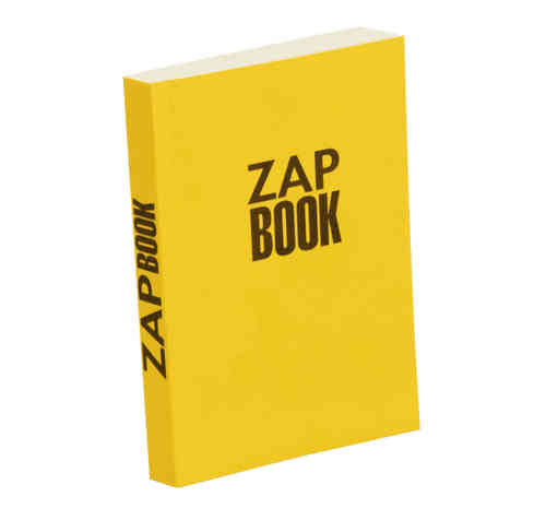 "Bloc croquis ""Zap Book"" - 210 X 297 mm"