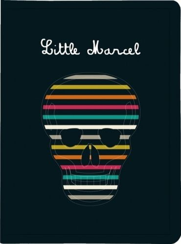 "Protège-documents ""Little Marcel"" - Skull - Format pocket"