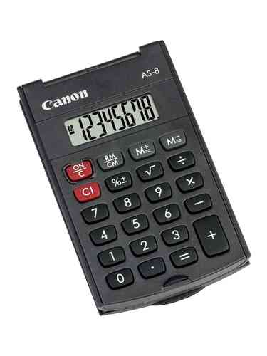 "Calculatrice de poche ""AS-8"""