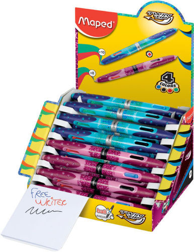 Stylo 4 couleurs Twin Tip - Collector
