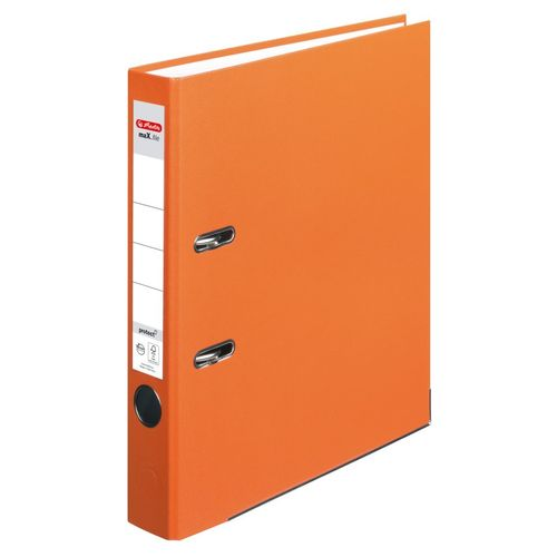 Classeur max.file protect, A4, 50 mm - Orange