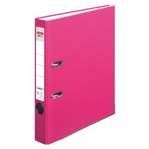 Classeur max.file protect, A4, 50 mm - Rose