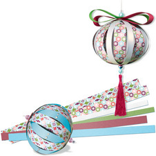 "Kit Paper Balls ""Jolly Christmas"""