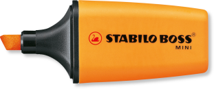 Surligneur Stabilo boss Mini - Orange