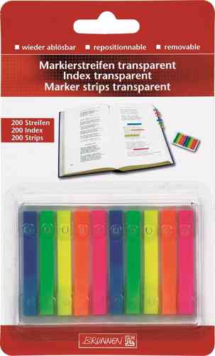 Index transparents