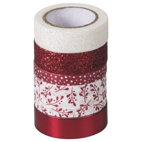 Assortiment masking tape - Rouge