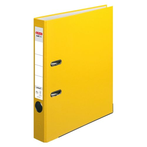 Classeur max.file protect, A4, 50 mm - Jaune
