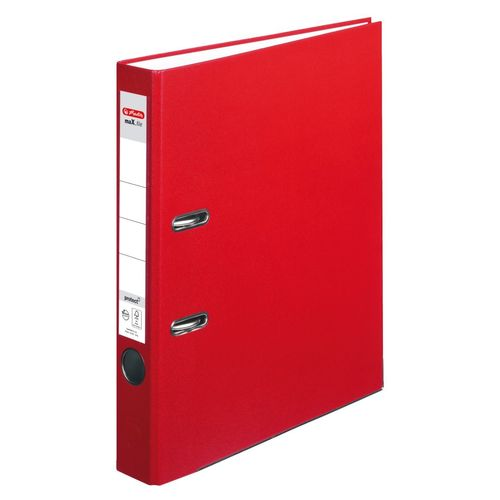 Classeur max.file protect, A4, 50 mm - Rouge