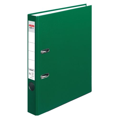 Classeur max.file protect, A4, 50 mm - Vert