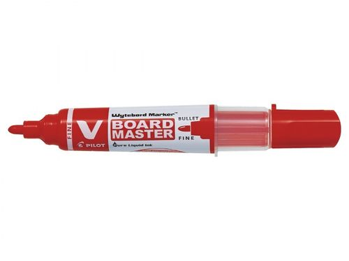 Marqueur pour tableau blanc V BOARD MASTER, fin - rouge