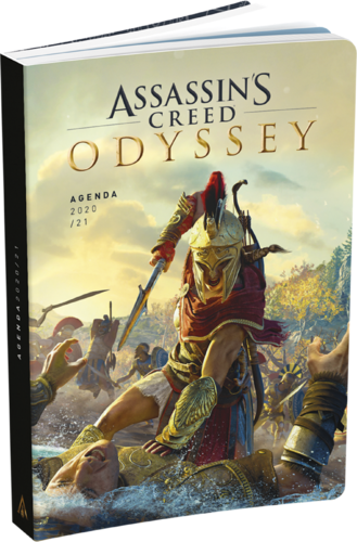 "Agenda scolaire ""Assassin's creed"" Odyssey - 2020/2021"