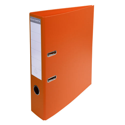 Classeur à levier PVC Premium 70mm - Orange