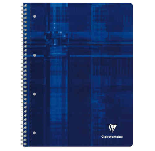 "Cahier spirale ""Studium A4+"" - 160 pages - 5x5 + marge"