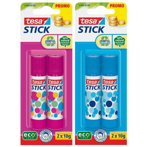 Stick Bâton de colle, pack de 2, 10 g,