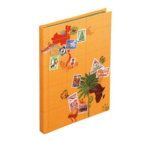 Album de timbres Globetrotter, 170 x 225 mm