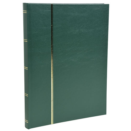 Album de timbres, 225 x 305 mm, 48 pages - Vert