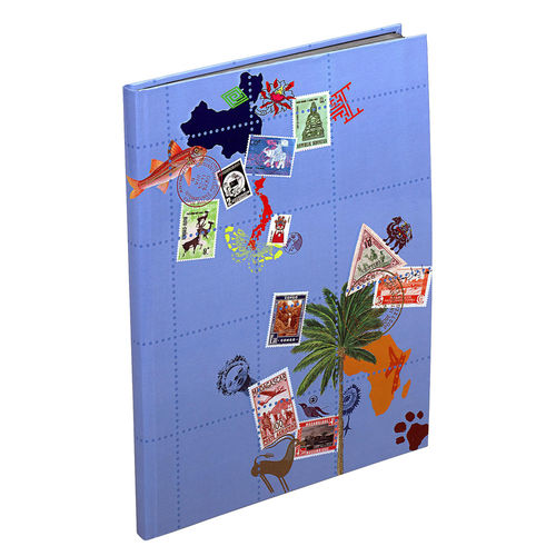 Album de timbres Globetrotter, 225 x 305 mm