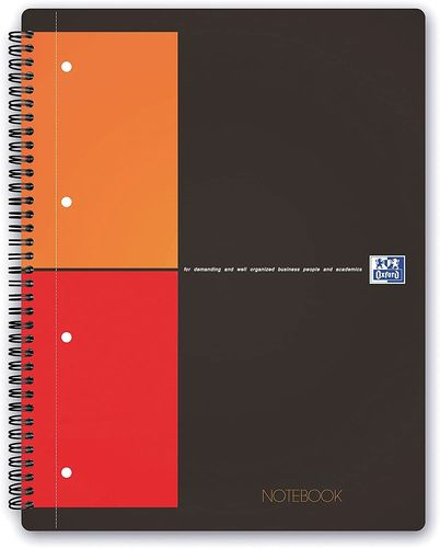 "Cahier ""Notebook"" - A4+ - 160 pages - 5x5 + marges"